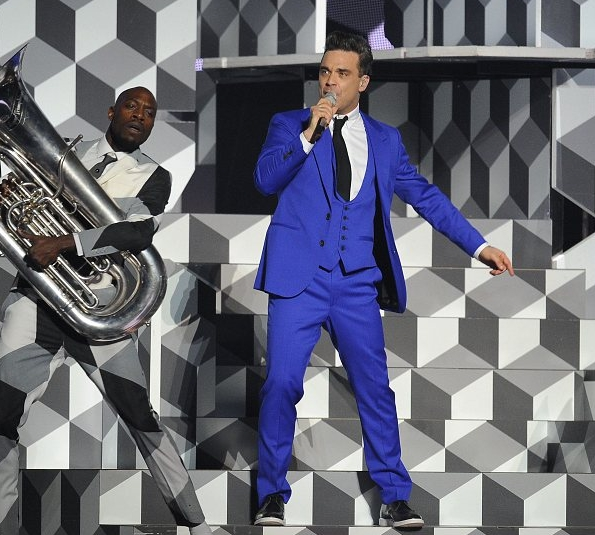 robbie williams na Brit Awards