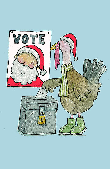 turkeys voting for Christmas объясение