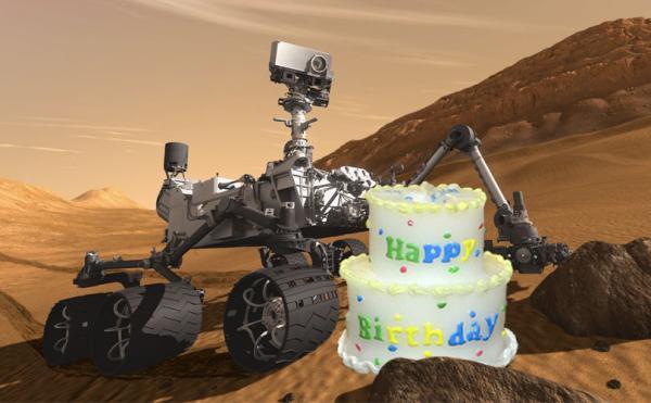 Mars Curiosity Rover Sings Happy Birthday To Itself Cnet