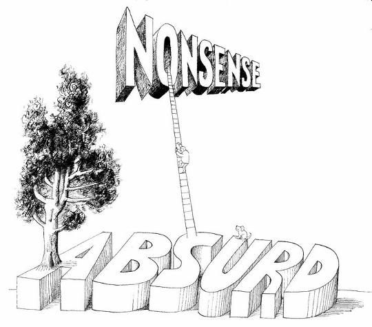 absurd nonsense перевод