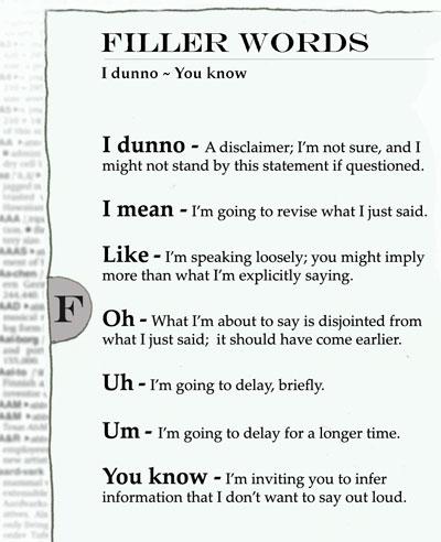 слова-перезиты английский список