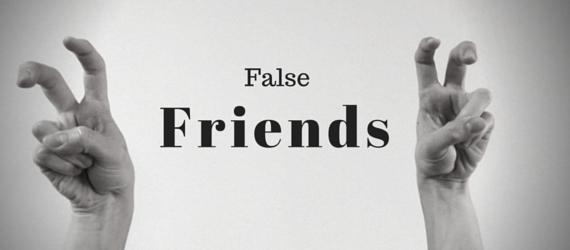 лже друзья переводчка английский