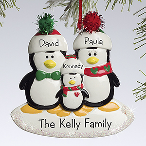 personalized Christmas ornaments пример